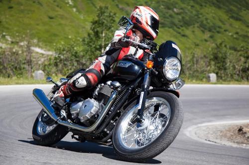 Motorradfahren in Ischgl