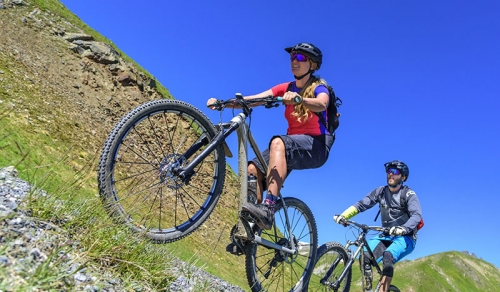 Mountainbiken mit der Bike Academy