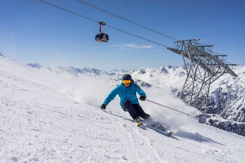 Ski-Januar