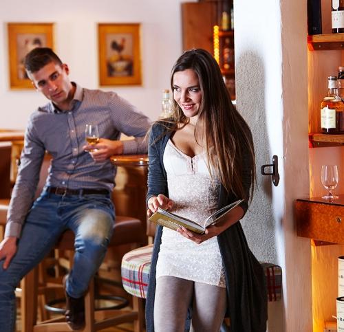 Bar und Kaminstube im Hotel Olympia **** Ischgl