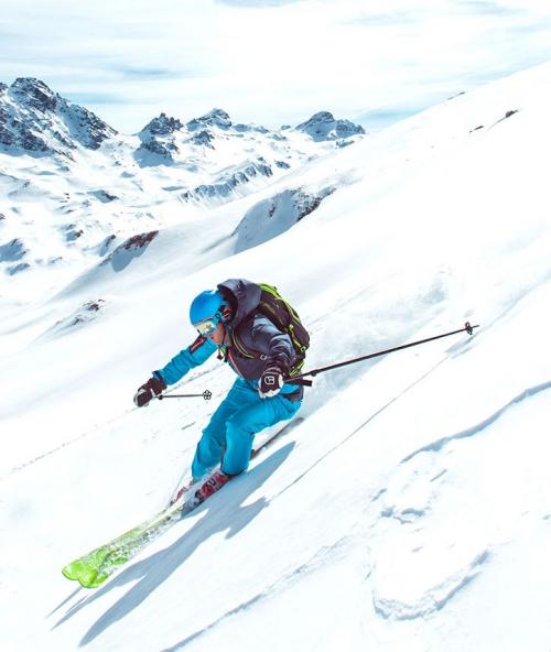 Alpin-Ski-Vergnügen im Skigebiet Ischgl Samnaun