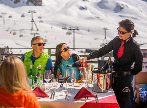 Gastronomie in der Bergwelt von Ischgl