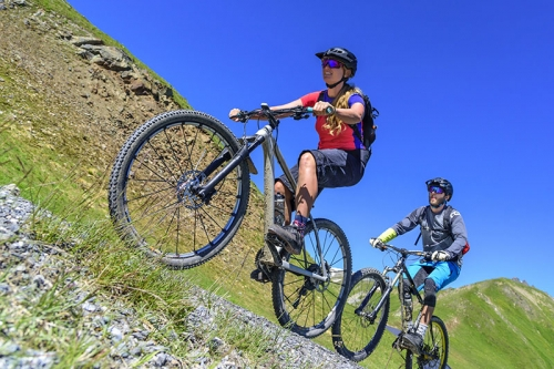 Mountainbiken Ischgl